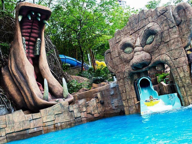 پارک سان وی لاگون (sunway lagoon) مالزی پیشرفته و هیجان انگیز
