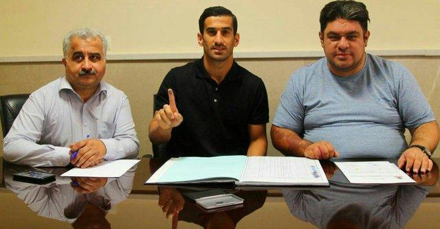 قرارداد حاج صفی با تراکتورسازی ثبت شد