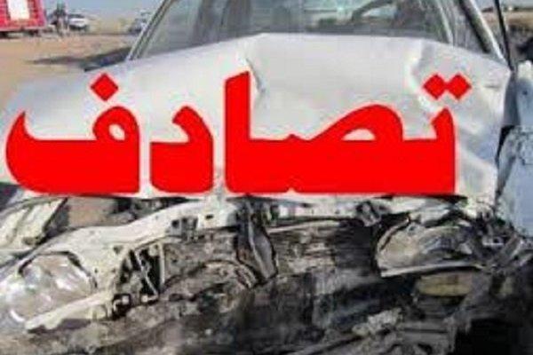 تصادف کاروان عروسی در آزادراه پل زال، 2 نفر کشته و 4 نفر مجروح شد