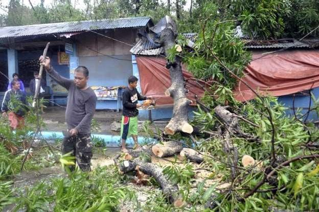 طوفان در فیلیپین دست کم 6 قربانی بر جای گذاشت