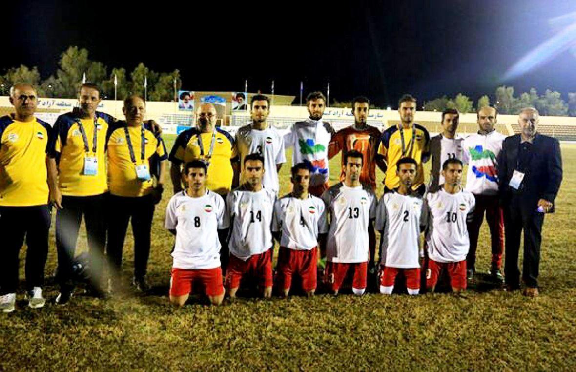 مسابقات فوتبال هفت نفره قهرمانی آسیا - اقیانوسیه؛ ایران مقتدرانه جام قهرمانی را بالای سر برد