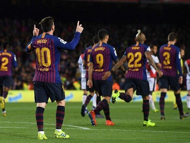 یک پیروزی دیگر برای بارسلونا