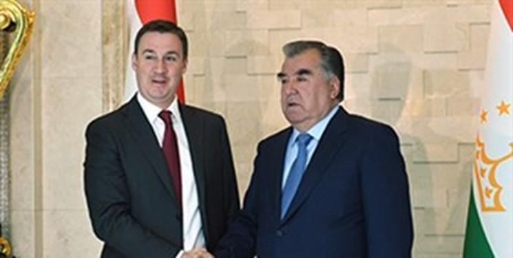 دیدار وزیر کشاورزی روسیه با رئیس جمهور تاجیکستان