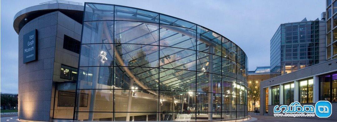 در موزه ونگوگ شهر آمستردام قدم بزنید