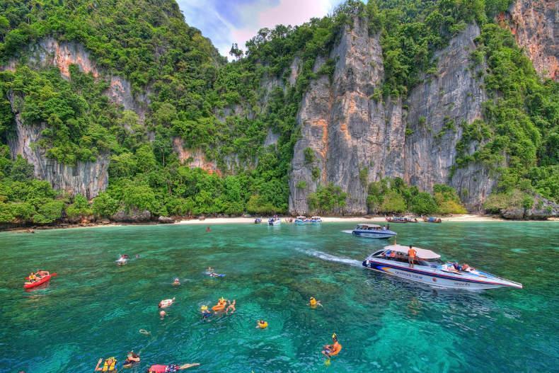 سه جزیره دیگر تایلند نیز به روی گردشگران بسته شد!