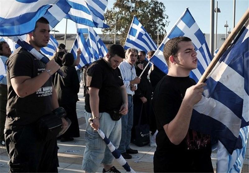 راهپیمایی افراطی های یونان در اعتراض به احداث نخستین مسجد رسمی در آتن