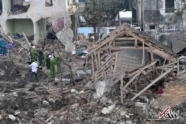 تصاویر : انفجار در ویتنام