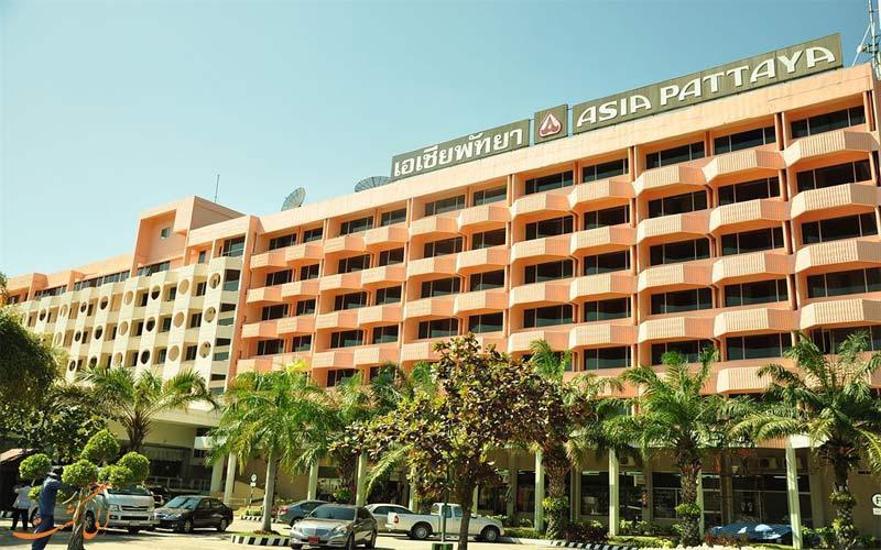 معرفی هتل 4 ستاره آسیا در پاتایا