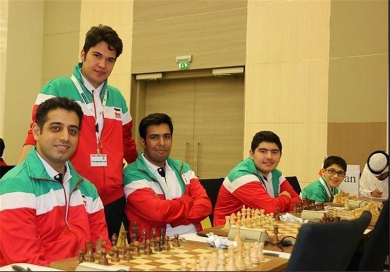 رجحان تیم شطرنج مردان ایران مقابل ویتنام، تیم بانوان به چین باخت