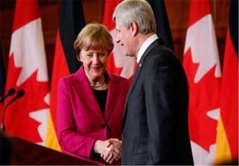 مرکل و هارپر از قرارداد تجارت آزاد کانادا-اروپا حمایت کردند