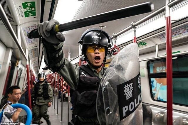 جنگ توییتر و فیسبوک با کمپین ضد اعتراضات هنگ کنگ