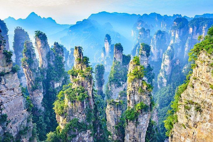 آشنایی با پارک ملی جنگلی Zhangjiajie چین