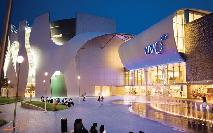 ویوو سیتی بهترین مرکز خرید سنگاپور