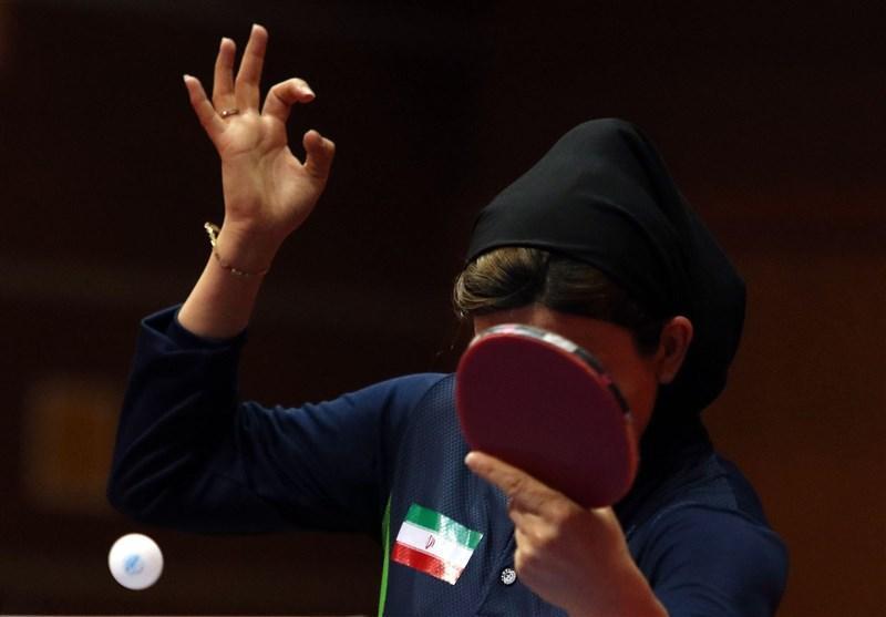 تنیس روی میز قهرمانی آسیا، رجحان تیم بانوان ایران مقابل نپال