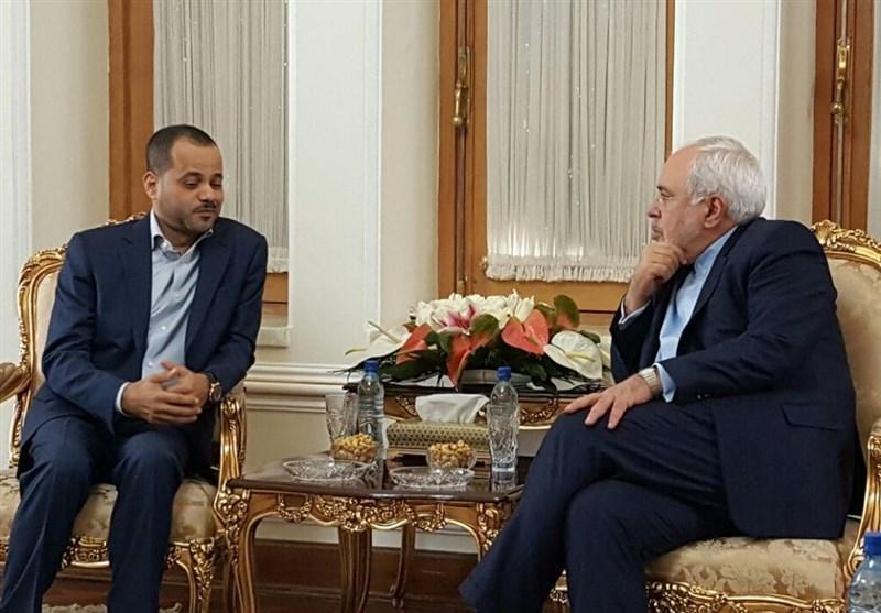 قائم مقام وزیر خارجه عمان با ظریف دیدار کرد