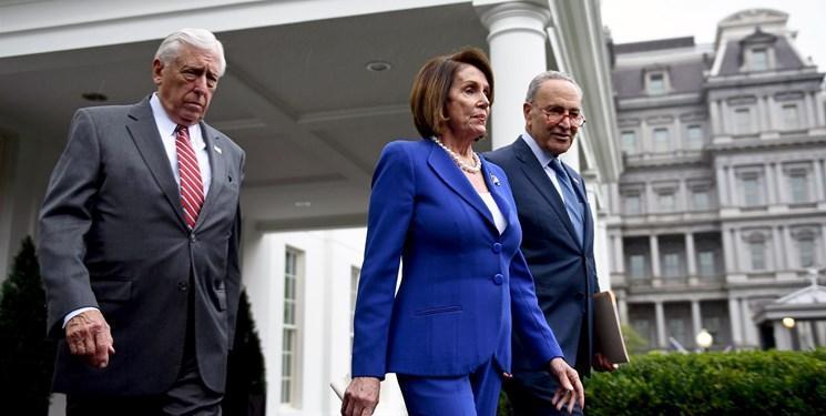 رهبران دموکرات کنگره جلسه کاخ سفید را ترک کردند