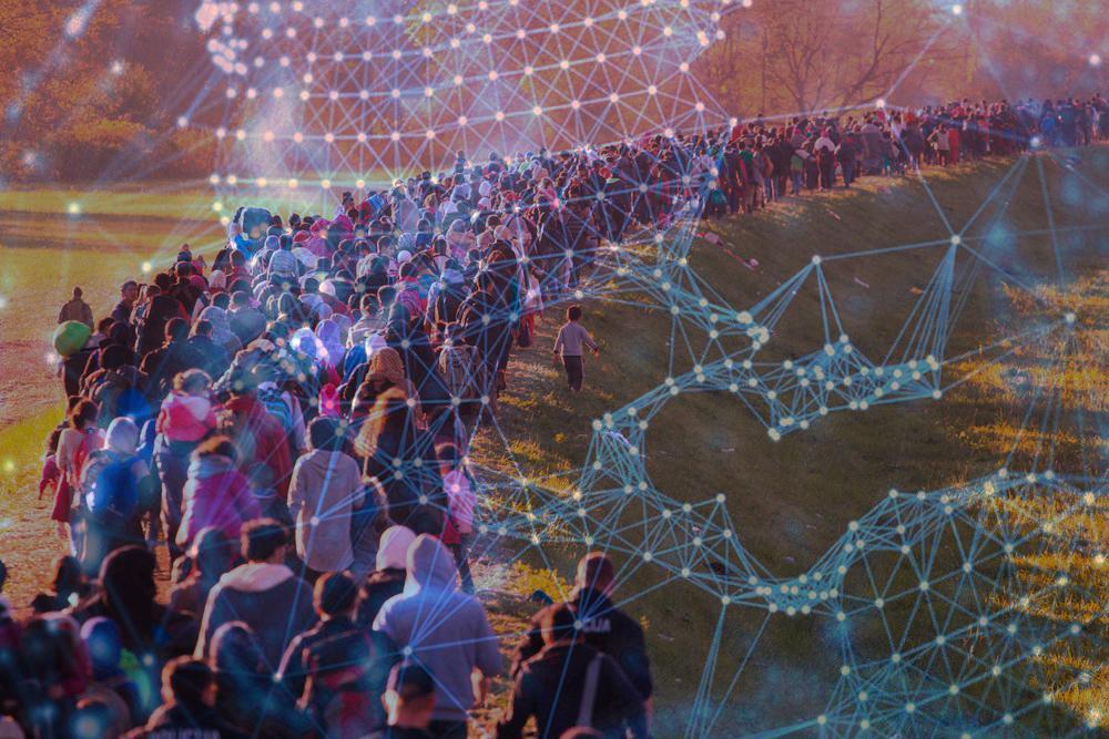 چتر حمایتی بلاکچین بر سر پناهجویان و آوارگان