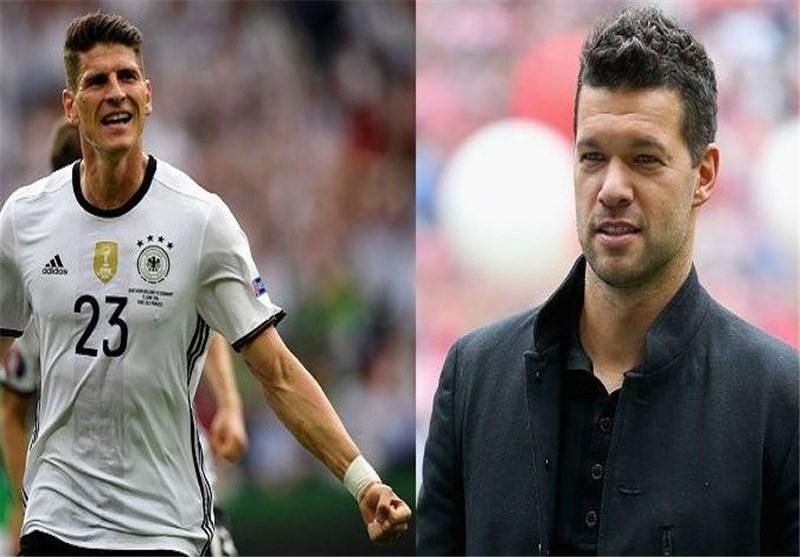 پیش بینی بالاک و گومز از بازی آلمان و ایتالیا