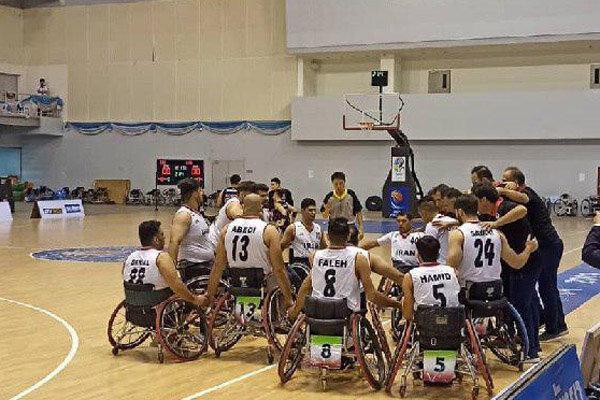 سومین برد تیم ملی بسکتبال با ویلچر ایران برابر کره جنوبی رقم خورد