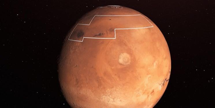 انتشار نقشه آب مریخ برای استفاده فضانوردان آینده