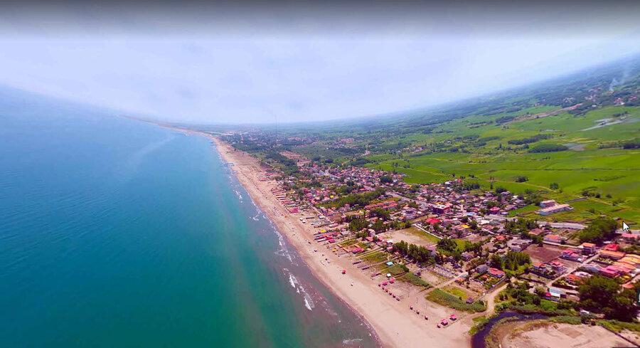 شناسایی تصرفات غیرقانونی ساحلی دریای خزر