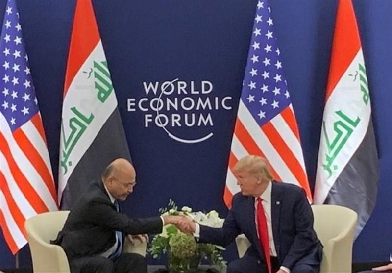 عراق، بیانیه کاخ السلام درباره ملاقات صالح با ترامپ، اظهارات مداخله جویانه سفیر انگلیس در بغداد