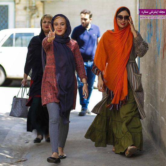 عکس بهاره افشاری و دختر افسانه شریفی
