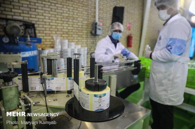 فعالیت 400 شرکت فناور در زمینه فراوری محصولات مبارزه با کرونا