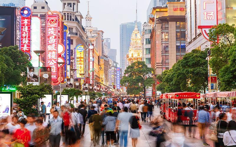 خیابان های معروف شانگهای، تجربه ای عالی برای تفریح و خرید