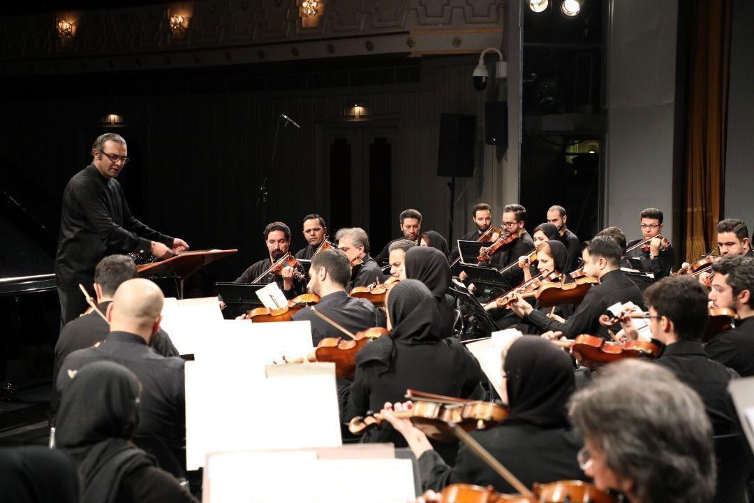 آماده شدن اجرای خانگی ارکستر سمفونیک تهران با اجرای 148 نوازنده