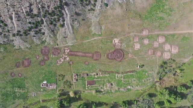 یک اکتشاف مهم در جاده ابریشم؛ بقایای ساختمان هایی با قدمت 3هزار سال پیش از میلاد