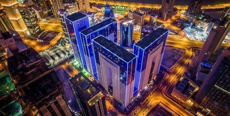 (تصاویر) هتل لوکس و بی نظیر محل اقامت تیم های ایرانی در دوحه