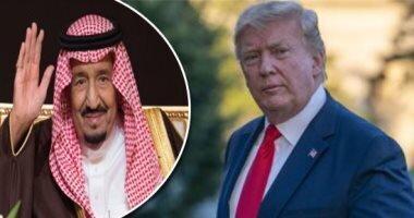شاه سعودی و بن سلمان برای ترامپ پیغام تبریک فرستادند