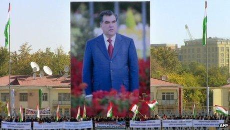 نامزدی دوباره امامعلی رحمان برای ریاست جمهوری تاجیکستان