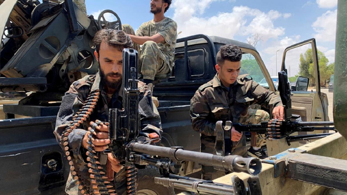 نیرو های خلیفه حفتر آتش بس در لیبی را نقض کردند