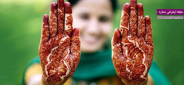 آشنایی با نقش حنای هندی (Mehandi)