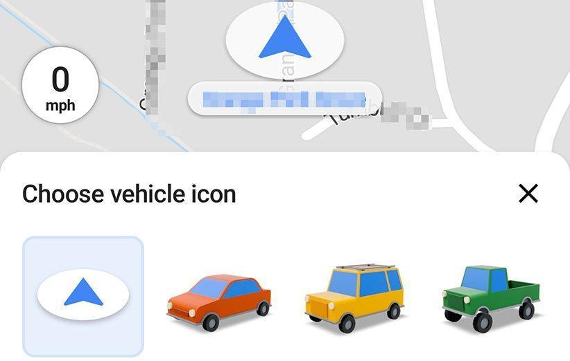 آیکون های جدید حالت رانندگی به نسخه اندروید گوگل مپ رسید