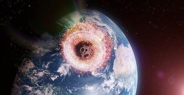 خورشید عامل برخورد سیارک با زمین می گردد