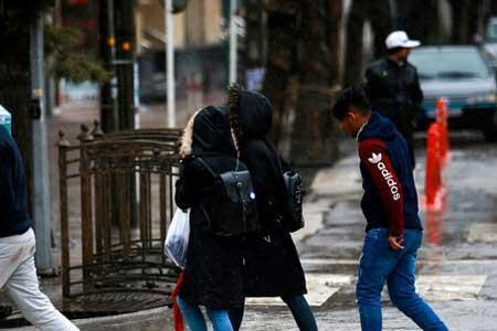 بارش باران و کاهش دما در بعضی استانها