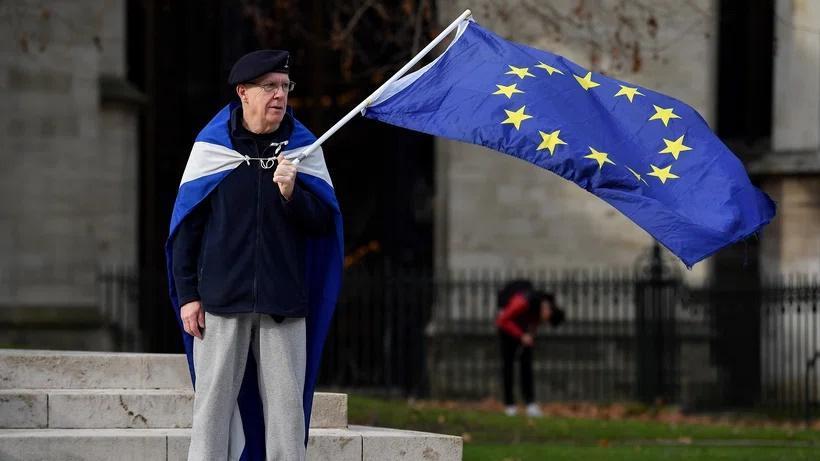 اسکاتلند می خواهد با استقلال از انگلیس به اتحادیه اروپا بازگردد