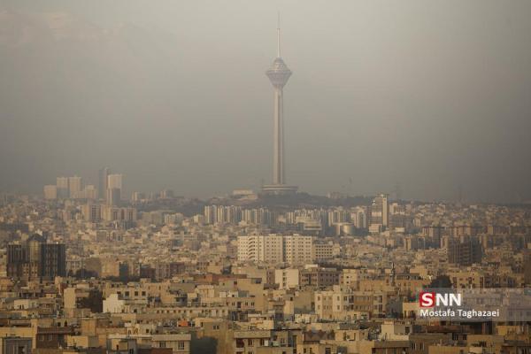 هوای تهران با شاخص 103 برای گروه های حساس ناسالم است