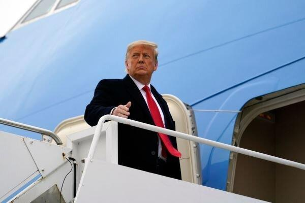 ترامپ سکوت سه روزه را شکست!