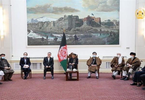 اشرف غنی در دیدار با علمای شیعه افغانستان: صلح با تضرع را نمی خواهیم