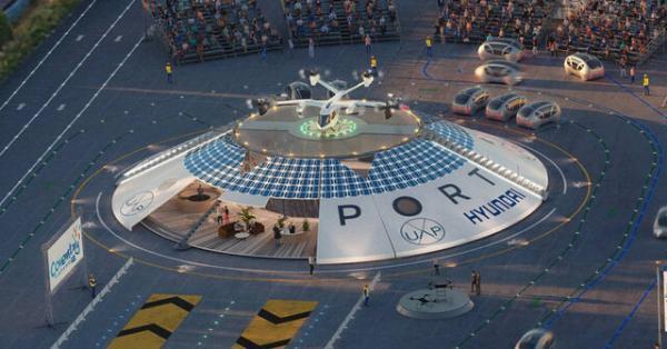 انگلیس میزبان اولین فرودگاه خودروهای پرنده برقی در دنیا می گردد