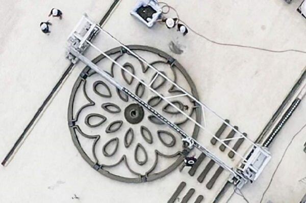 فراوری سکوی پرتاب فضایی با چاپگر سه بعدی