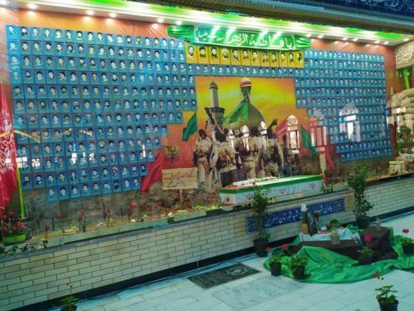 خبرنگاران یادمان 436 شهید شهرستان اسفراین در خراسان شمالی افتتاح شد