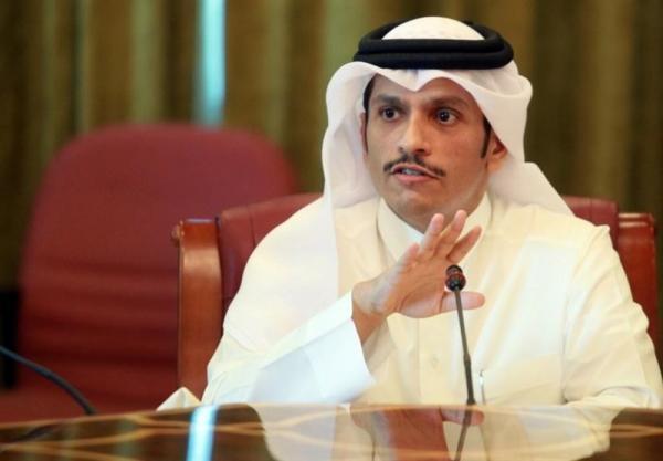 سفر وزیر خارجه قطر به عراق، دعوت برهم صالح به دوحه