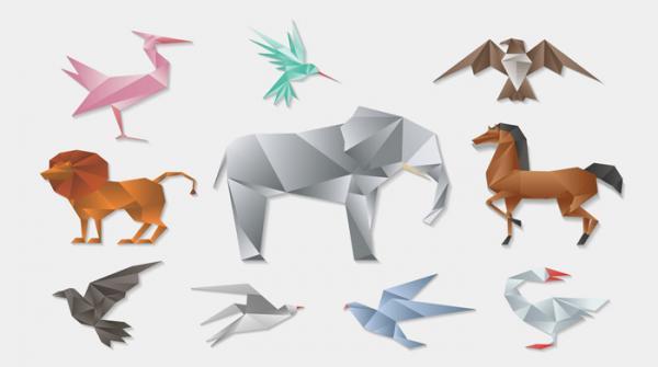 آموزش ساخت اوریگامی حیوانات (خرگوش، قورباغه، کانگورو و&hellip) همراه با فیلم