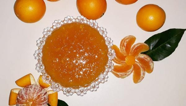 طرز تهیه مارمالاد پرتقال بدون ژلاتین و با پودر ژلاتین خانگی