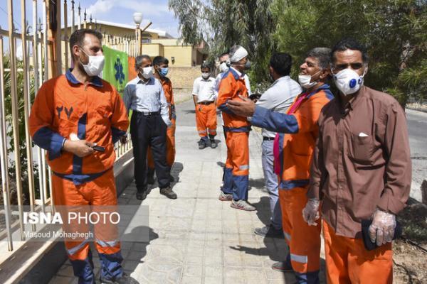 عزل 2 نفر از کارکنان سازمان پسماند شهرداری سمنان به دلیل تخلف تزریق واکسن کرونا